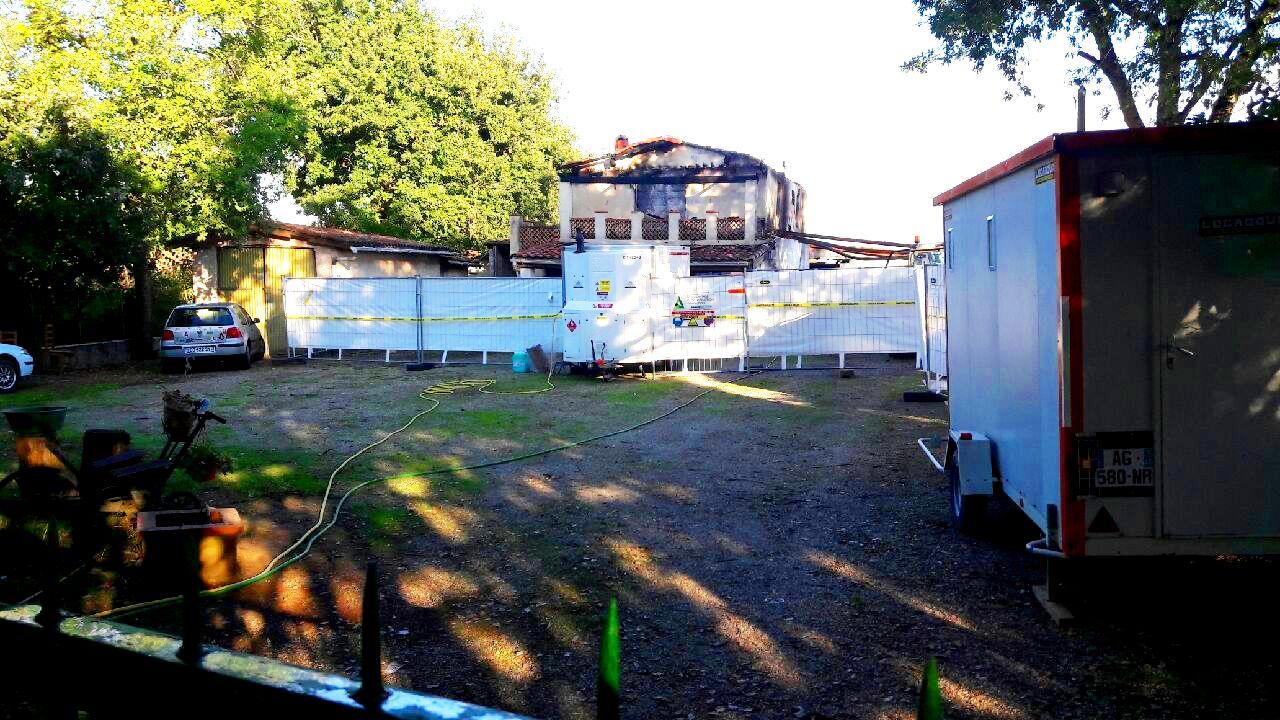 Soveamiant - Désamiantage extérieur Maison sinistré Pau